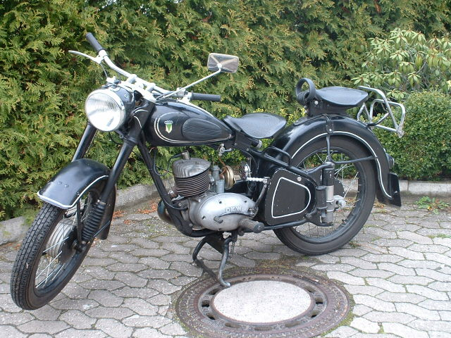 DKW RT 200 H | 1952 | 8,5 PS