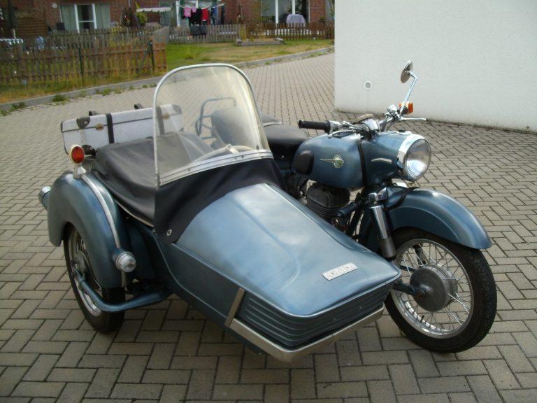 MZ 250/1 | 1965 | 16 PS | mit Superelastikbeiwagen